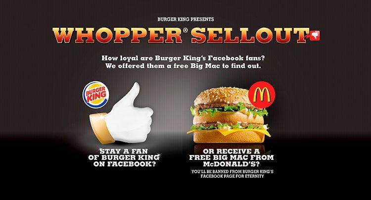 Publicidad online burger
