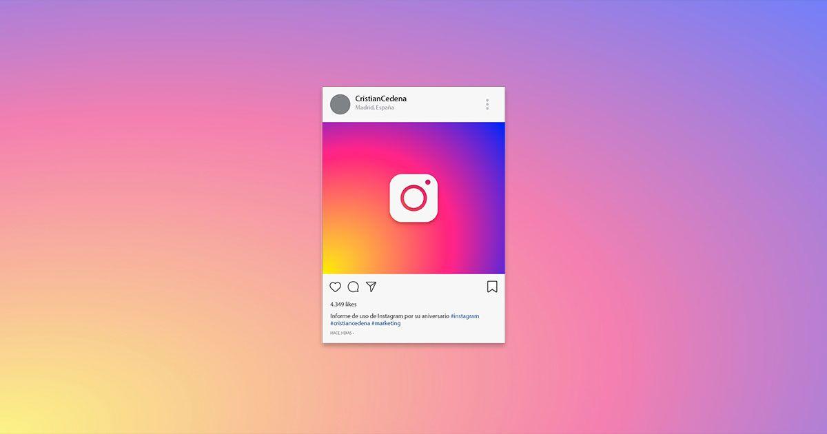 Informe de instagram
