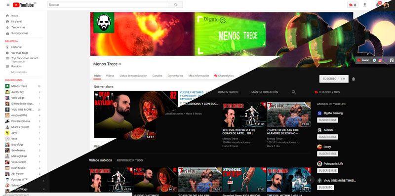 Evolución de Youtube
