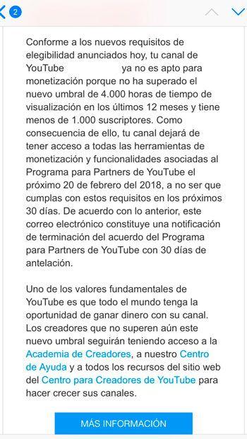 Normas de YouTube