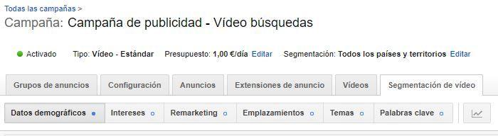 Publicidad en Youtube con Adwords