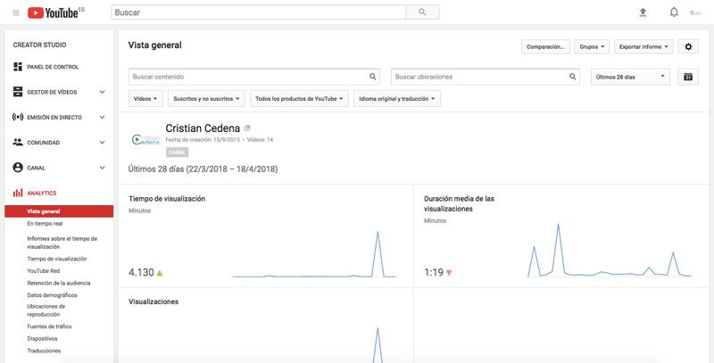 YouTube Aumentar Audiencia