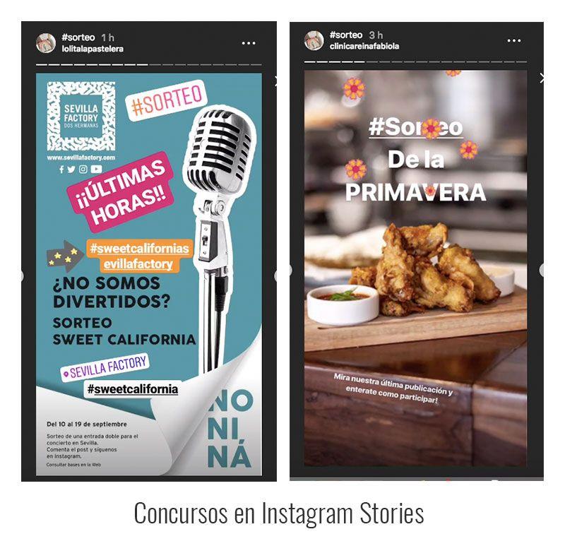 Concurso de Instagram Stories