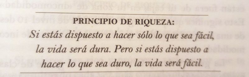 Principio de Riqueza del Libro
